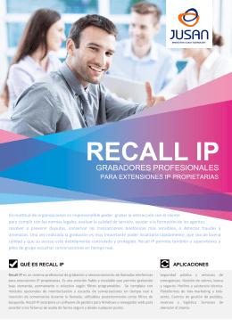 RECALL IP