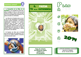 Folleto Pascua´14.HHCC.pub