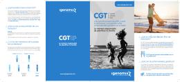 CGT Folleto Productos