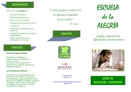 Folleto ESCUELA DE LA ALEGRÍA _AP_ _2