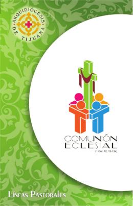 comunion eclesial folleto 30 pgs x6