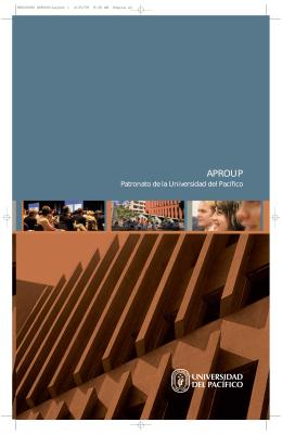 APROUP - Universidad del Pacífico