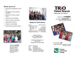 Talent Search - Clatsop Community College