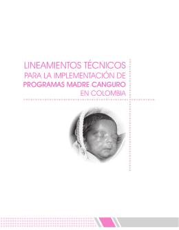 Lineamientos para la implementación de programas Madre Canguro