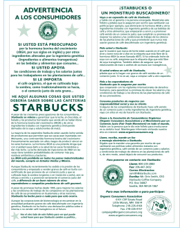 starbucks spanish 2flat.eps - Organic Consumers Association