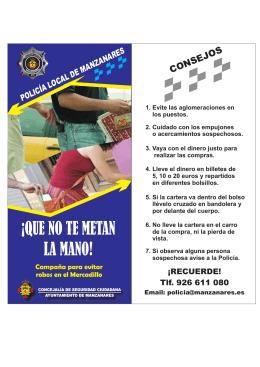 Folleto informativo en pdf - La Comarca de Puertollano