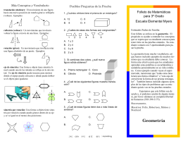 Spa_3rd grade math Geometryv2