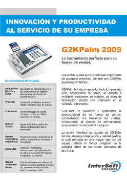 Folleto G2kPalm 2009.cdr