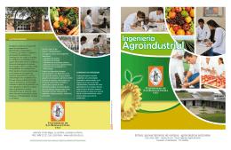 Agroindustrial Folleto 2015 - Universidad de San Buenaventura Cali