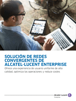 Folleto de soluciones de red convergente - Alcatel