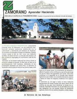 Folleto Zamorano aprender haciendo