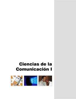 Ciencias de la Comunicación I - Colegio de Bachilleres del Estado