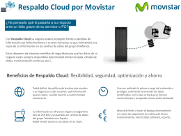 Folleto Respaldo Cloud