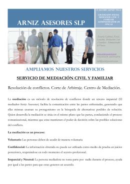 folleto mediacion