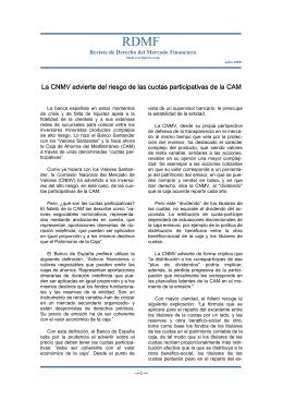 Léalo en PDF - Revista de Derecho del Mercado Financiero RDMF