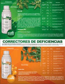 Folleto Correctores SFS