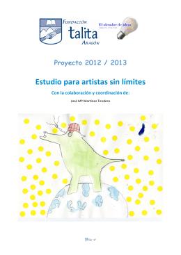 folleto ocio 20122013 - Fundación Lacus Aragón