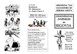 Folleto Segovia-2010
