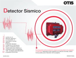folleto detector sismico