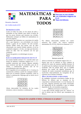 Folleto Julio 2013