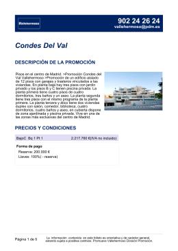 Condes Del Val
