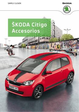 Škoda Citigo accesorios