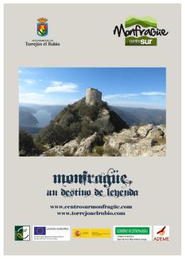 Monfragüe, Un destino de Leyenda. Folleto