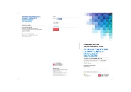 programa - Fundación Universidad de La Rioja