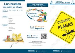 Cuidado de plagas (folleto) - Ministerio de Desarrollo Social
