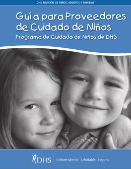 Guía para Proveedores de Cuidado de Niños