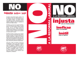 Folleto Reforma Laboral