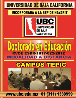 FOLLETO Doctorado en Educación (VIRTUAL)