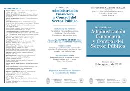 Folleto - Consejo Profesional de Ciencias Económicas de Salta