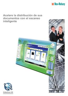 Folleto GlobalScan NX