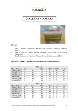 Folleto-Maletas Viajeras 2013-14