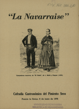 La Navarraise - Dadun - Universidad de Navarra