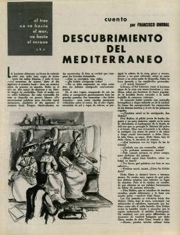 DESCUBRIMIENTO DEL M E DITERRANEO - Vialibre