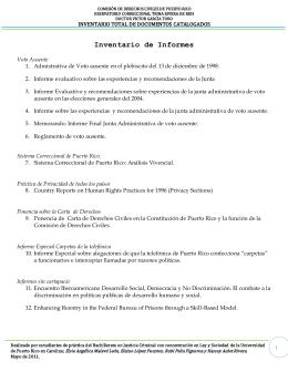 COMISIÓN DE DERECHOS CIVILES DE PUERTO RICO