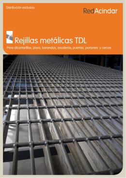 Rejillas metálicas TDL