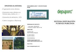 nuevo folleto depuporc información general del sistema con costes