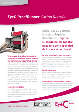 Folleto EyeC ProofRunner Carton Retrofit