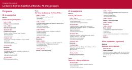 Folleto () - Universidad de Castilla