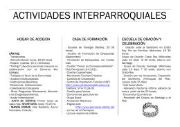 folleto parroquia santiago