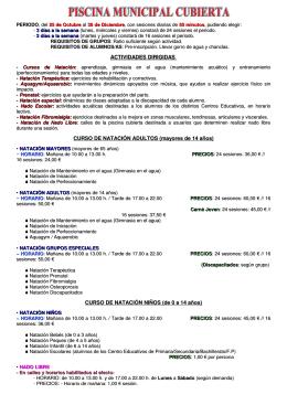 INFORMACION DEL FOLLETO B-N