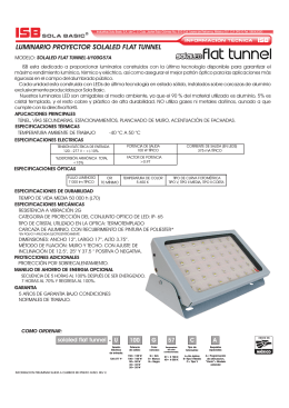 Folleto Flat Tunnel LED 100W.cdr