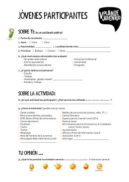 Cuestionarios PDF