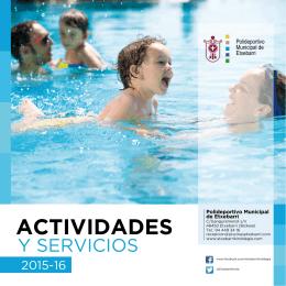 Actividades y Servicios 2015-16