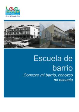 Escuela de barrio