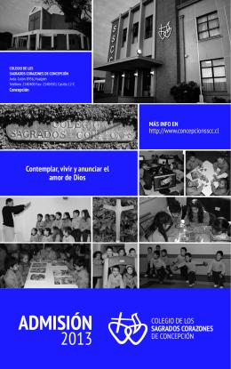 Folleto Admision - Colegio de los Sagrados Corazones de
