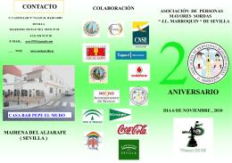 FOLLETO MAYOR - FAAS - Federación Andaluza de Asociaciones
